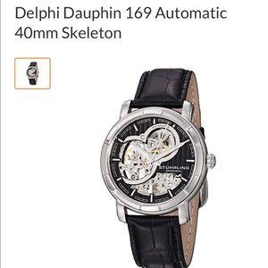 Delphi Dauphin 169 Automatic Skeleton 40mm Watch